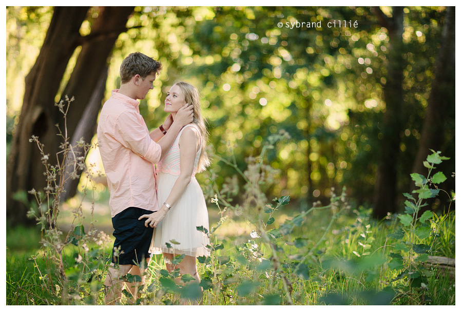 Beautiful forest engagement shoot