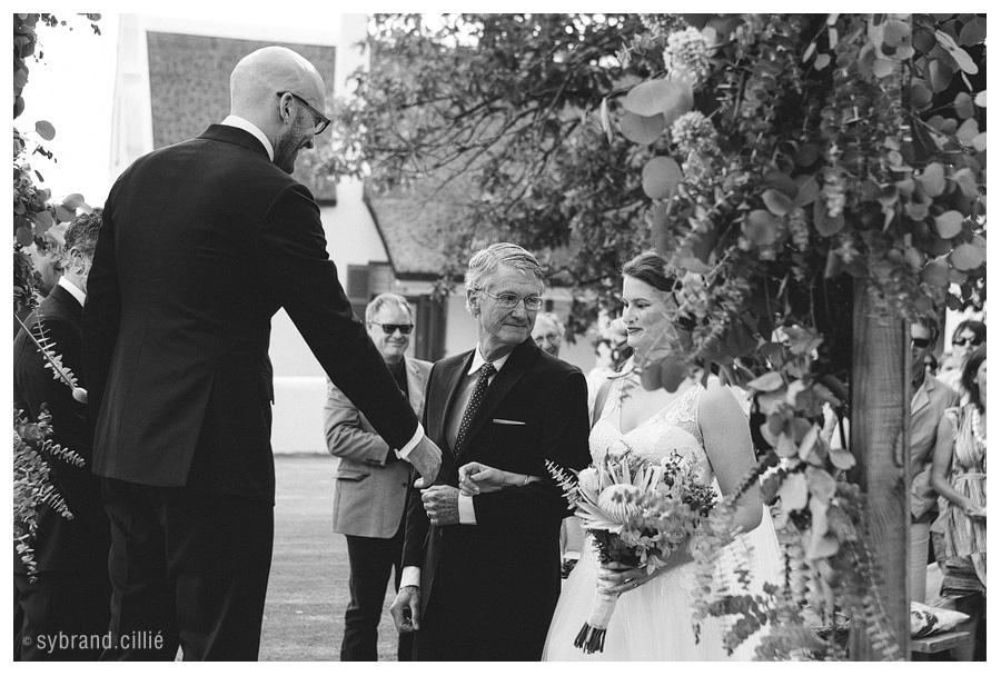 Stunning wedding at The Oaks Estate in Greyton