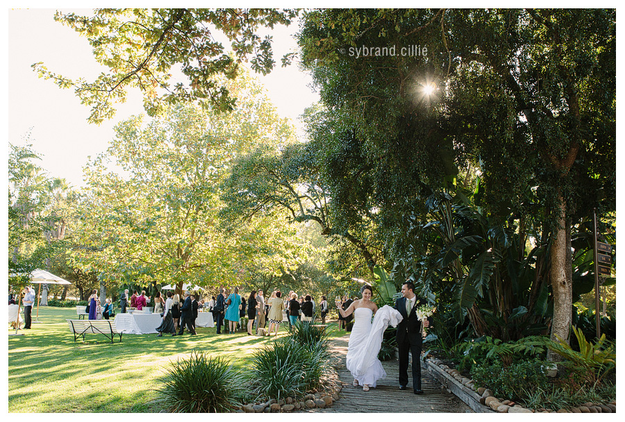 Wedding photos at Nooitgedach, Stellenbosch