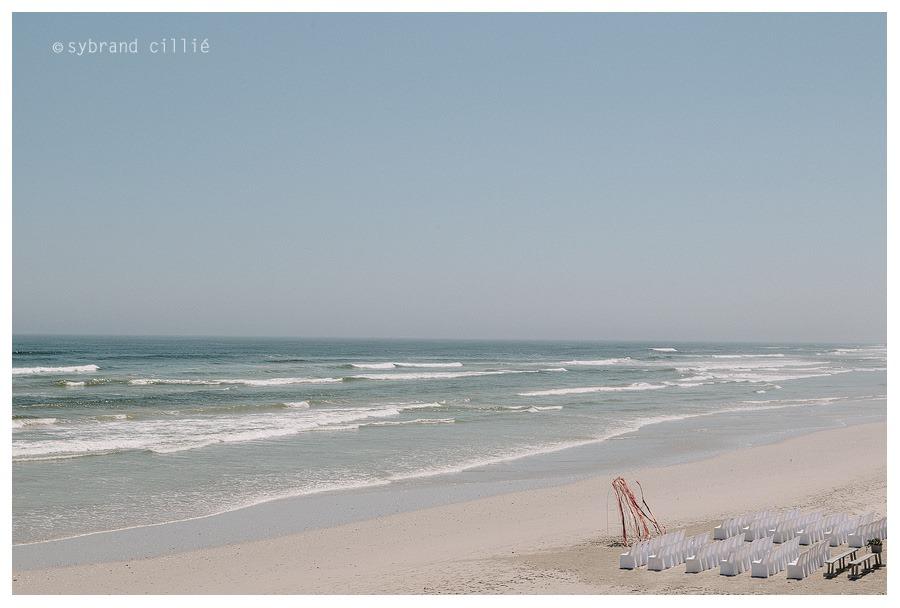 Beautiful beach wedding at Strandombuis, Yzerfontein