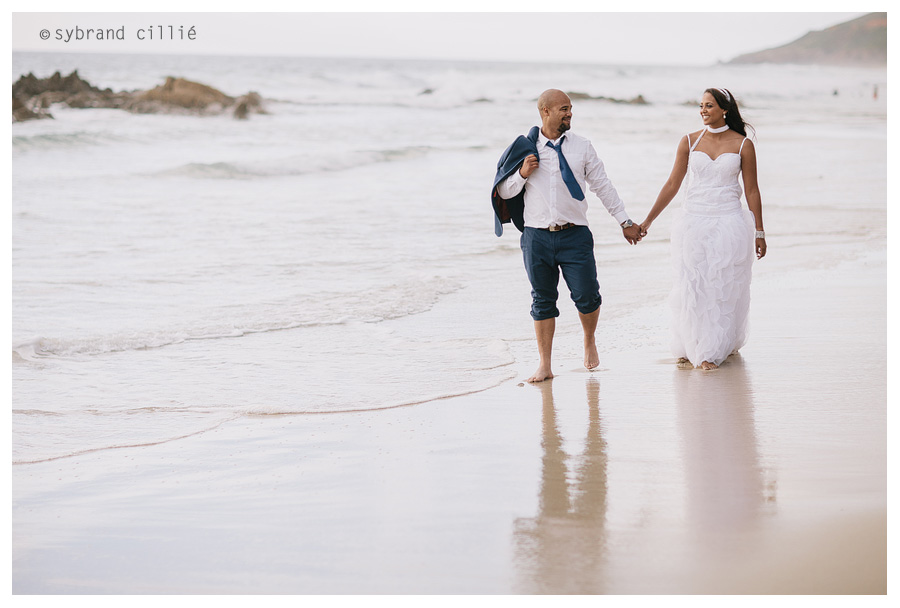 Beautiful Helederberg Beach wedding