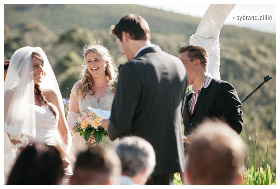 Fun wedding at Tokara
