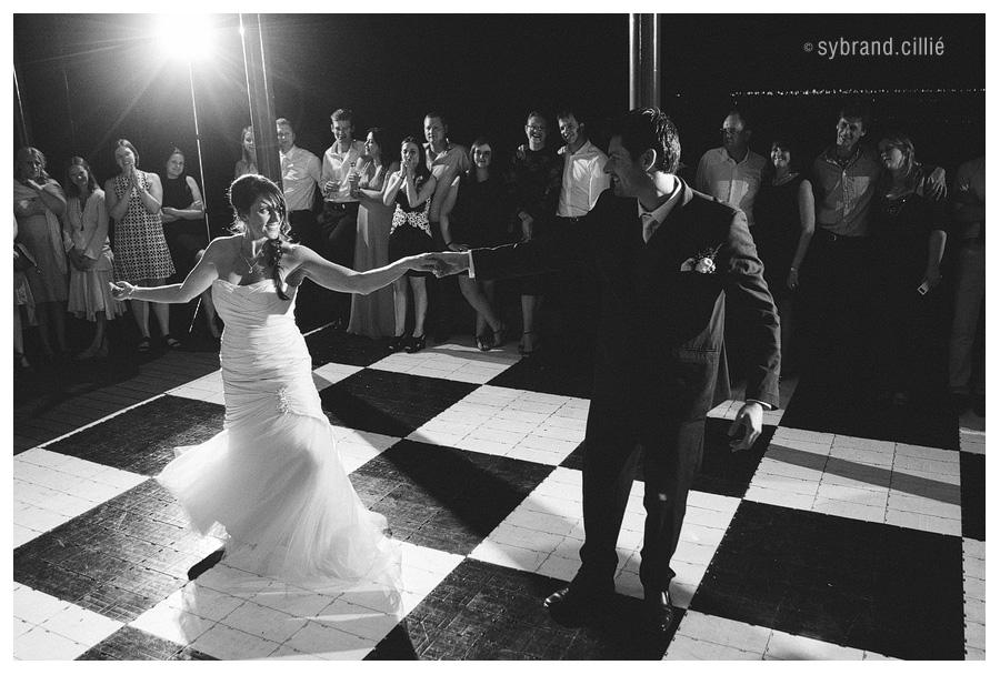 Fun wedding at Tokara
