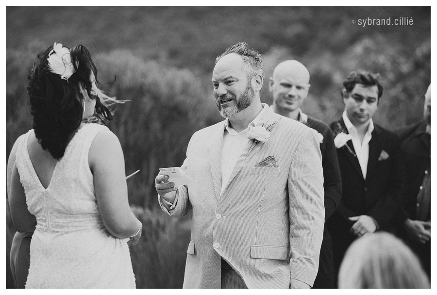 Wedding at Silvermist, Hout Bay