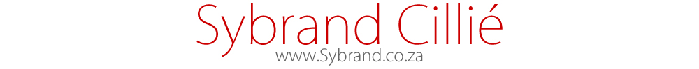 Photographer – Sybrand Cillié logo